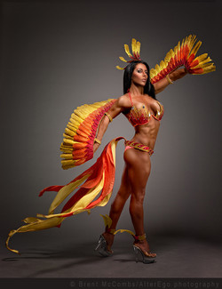 Lux pheonix theme wear costume