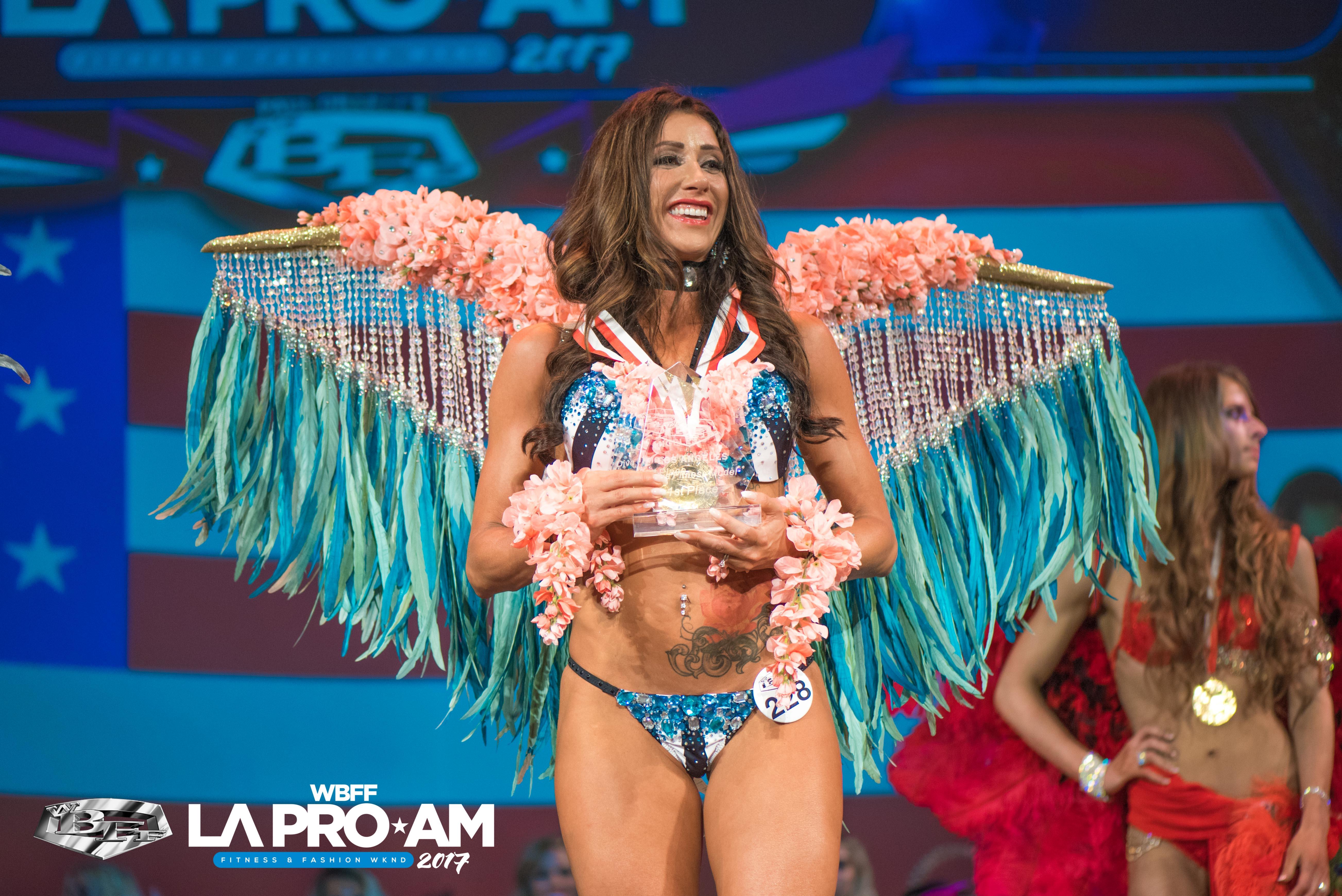 WBFF PRO Bobbie Cameron Lux Costume