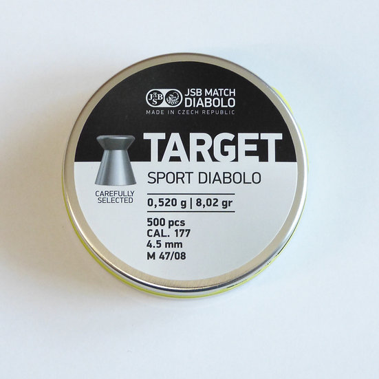 JSB Match Target LG Durchmesser 4.50 - 1 Stange (5000 Schuß)