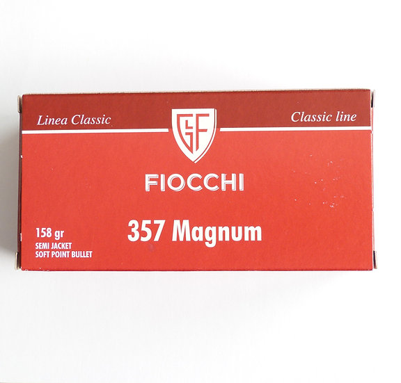 Fiocchi .357 Magnum SJSP - 158gr 1000 Schuß