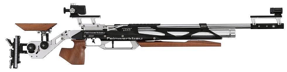 Luftgewehr Feinwerkbau 800 X Aufgelegt Nussbaumholz