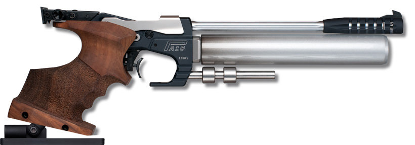 Luftpistole Tesro PA10-2 PRO Auflage