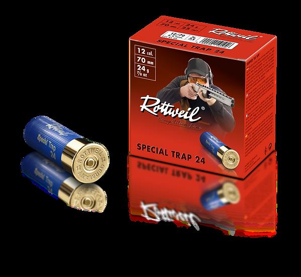 Rottweil Blei Special Trap 24  24g – Kaliber 12/70 - 1000 Schuß