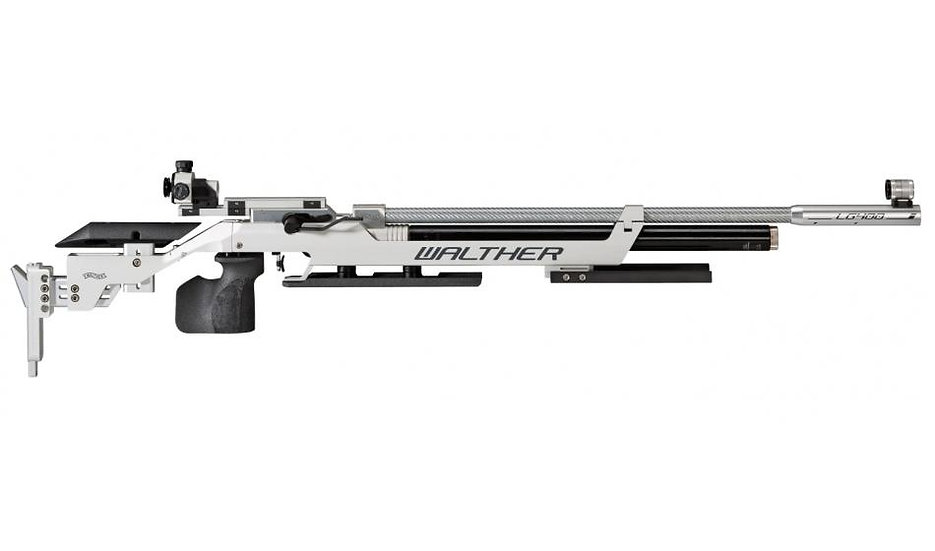 Luftgewehr Walther LG400 Alutec Auflage