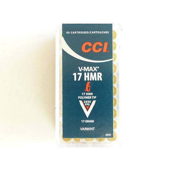 CCI V-MAX  17 HMR  – 17 grain 50 Schuß