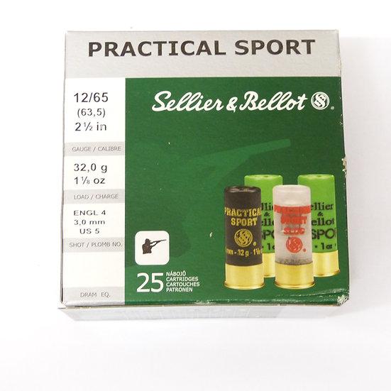 Sellier & Bellot Practical Sport 32g – Kaliber 12/65-  25 Schuß