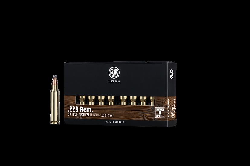 RWS Teilmantel .223 Rem.  3,6g – 55 grain 20 Schuss