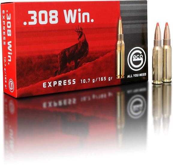 Geco Express  .308 Win. – 165 grain 20 Schuss