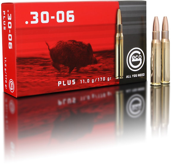 Geco Plus .30-06 Spr.  - 170 grain 20 Schuss