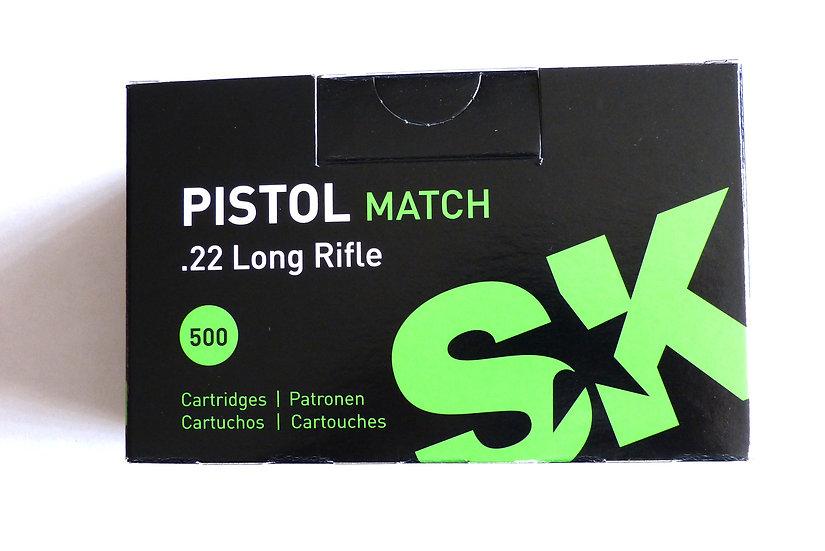 SK Pistol Match 22L.r.    5000 Schuß