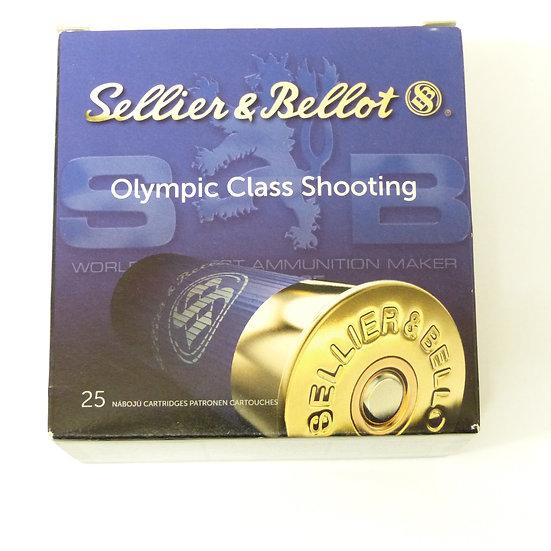 Sellier & Bellot Olympic Class Shooting – Kaliber 12/67,5 28g Slug - 25 Schuß