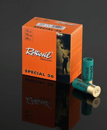 Rottweil Basic Line Special 36 - 2,7mm – Kaliber 12/70-  25 Schuss