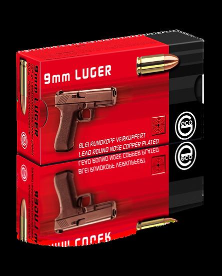 Geco 9mm Luger Vollmantel-Rundkopf – 124 grain 1000 Schuß