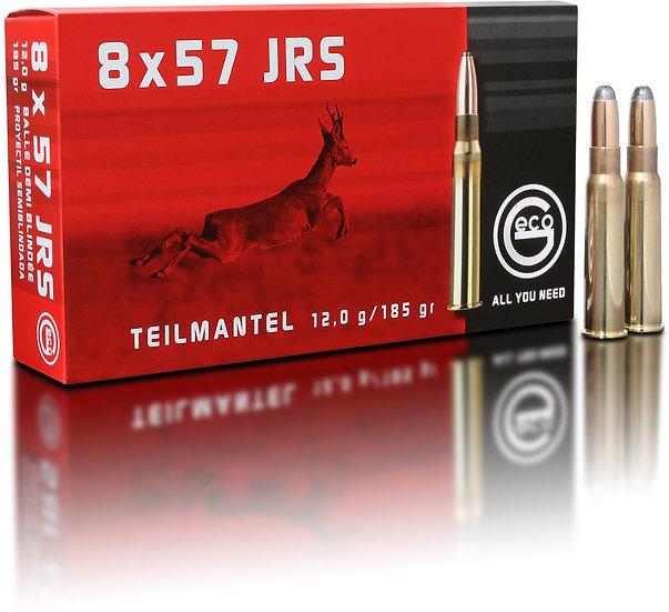 Geco Teilmantel 8x57 IRS – 185 grain 20 Schuss