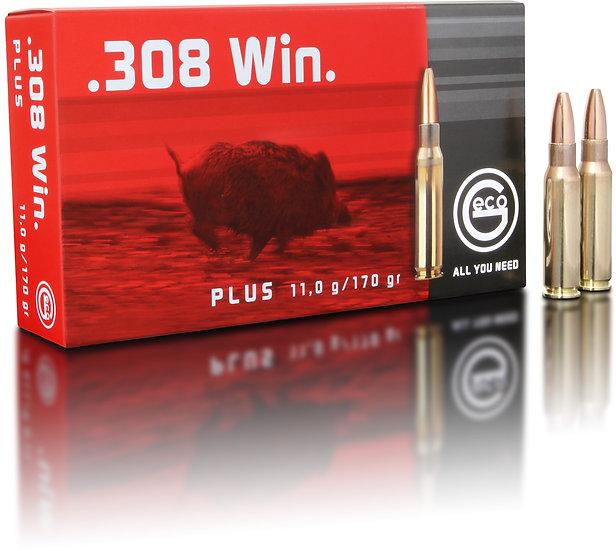 Geco Plus  .308 Win. – 170 grain 20 Schuss