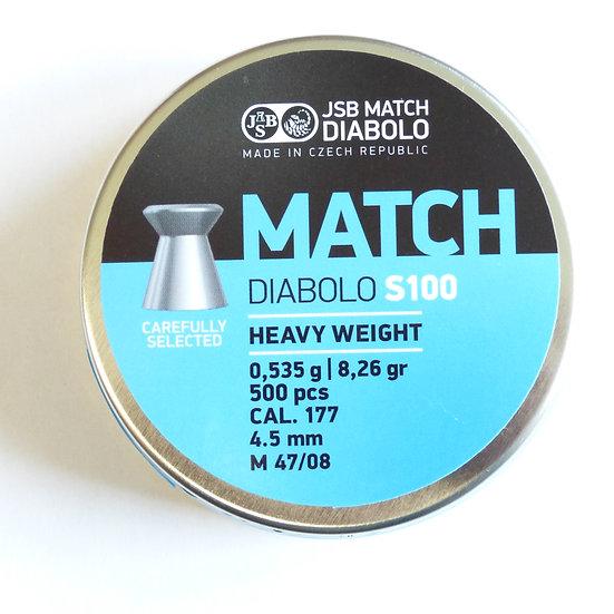 JSB Match LG Durchmesser 4.48 - 1 Stange (5000 Schuß)