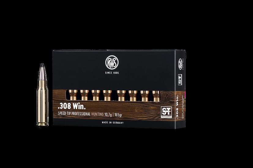 RWS Speed Tip Pro  .308 Win. – 165 grain 20 Schuss