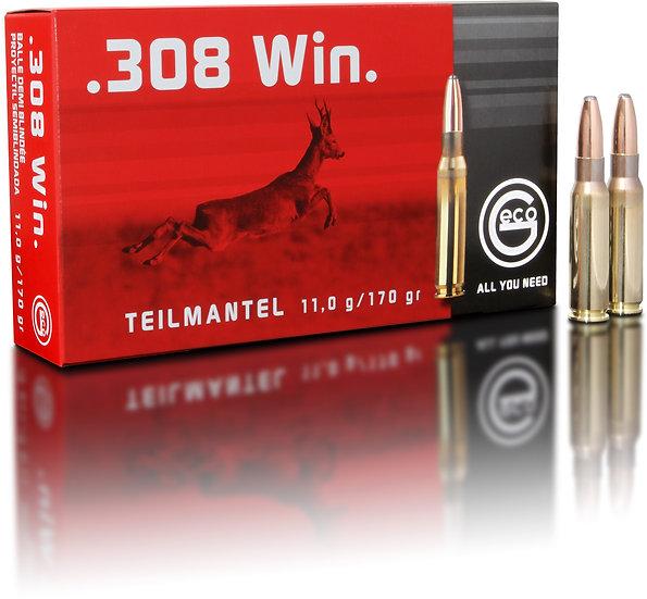 Geco Teilmantel  .308 Win. – 170 grain 20 Schuss