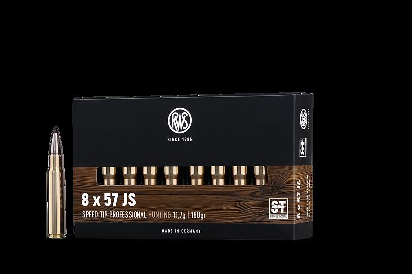 RWS Speed Tip Pro  8x57 IS – 180 grain 20 Schuss