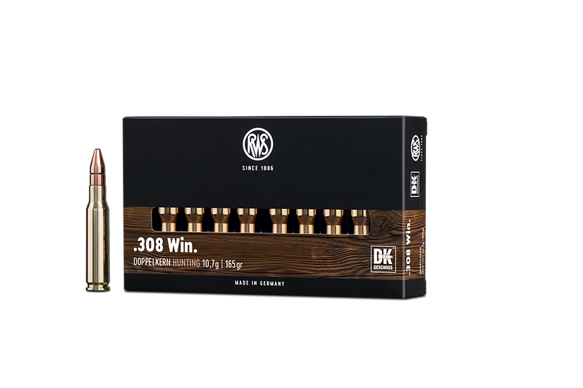 RWS Doppelkern  .308 Win. – 165 grain 20 Schuss