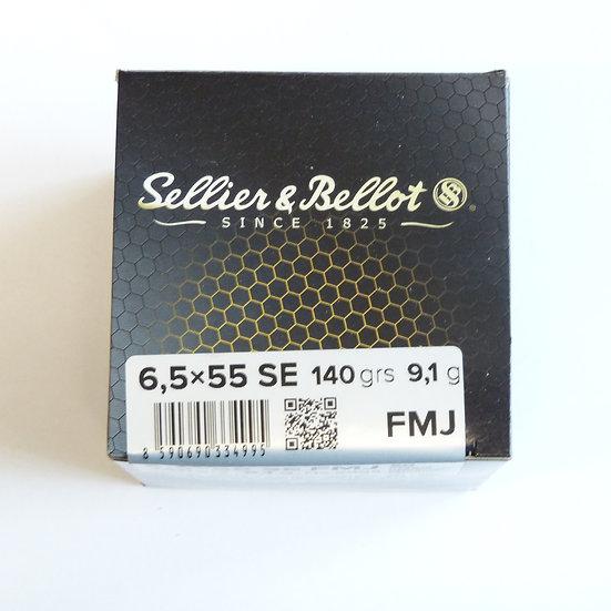Sellier&Bellot  FMJ  – 140 grain 50 Schuss