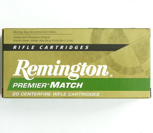 Remington Premier Match .223 Rem. 52gr.  – 200 Schuß