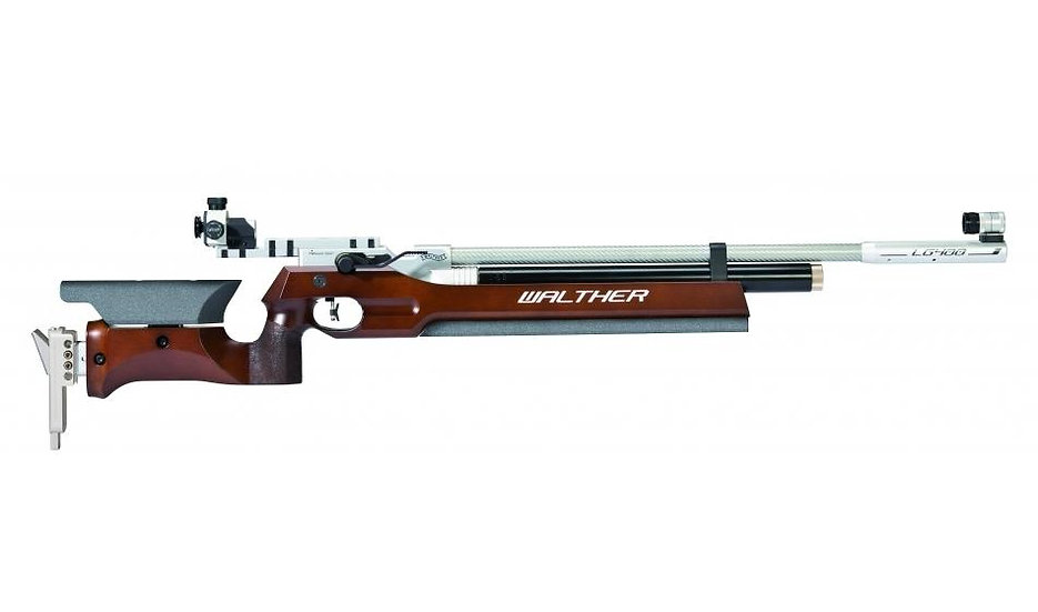 Luftgewehr Walther LG400 Holzschaft Auflage