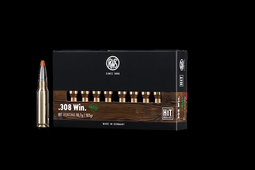 RWS HIT  .308 Win. – 165 grain 20 Schuss