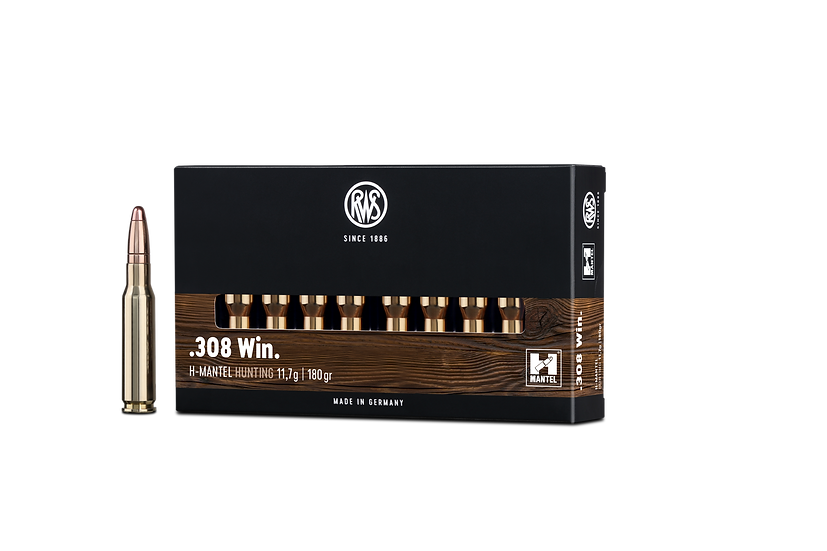 RWS HMK  .308 Win. – 180 grain 20 Schuss