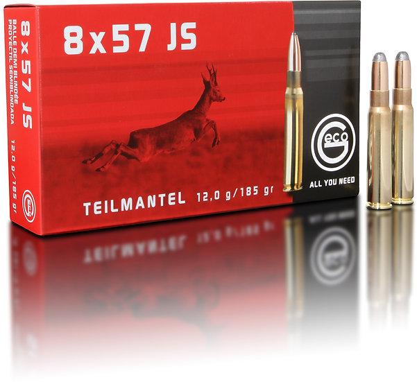 Geco Teilmantel 8x57 IS – 185 grain 20 Schuss