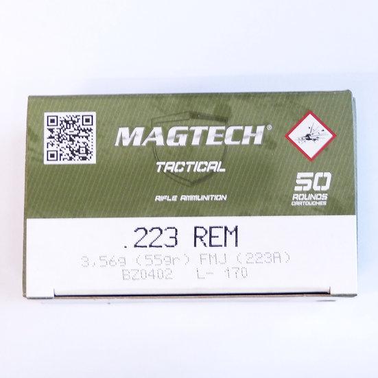 Magtech Tactical  .223 Rem. FMJ 55gr.  – 1000 Schuß