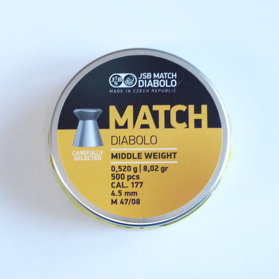 JSB Match LG Middle Weight Durchmesser 4.50 - 1 Dose