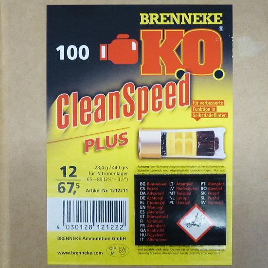 Brenneke K.O. Clean Speed – Kaliber 12/67,5 - 100 Schuß