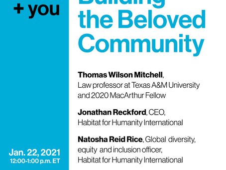 +You: Building the Beloved Community