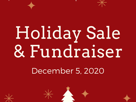 Holiday Garage Sale and Fundraiser
