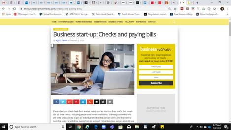 Business Woman Media (Checks) Full Article