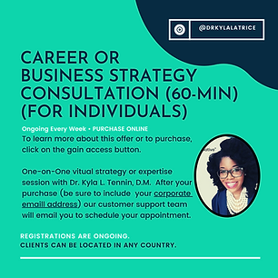 Career or Business Consultation (60-Minu