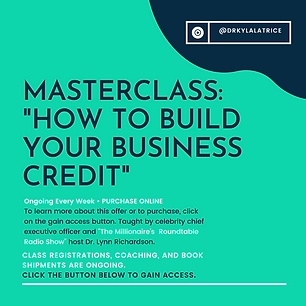 Masterclass-How To Build Your Business C