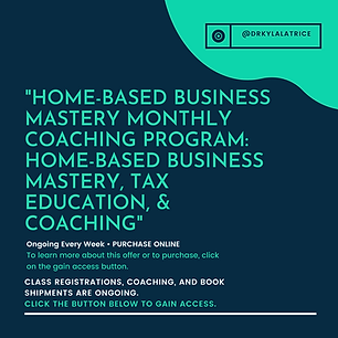 Home-based Business Mastery Monthly Coac