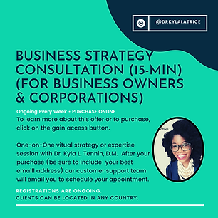 Career or Business Consultation (15-Minu
