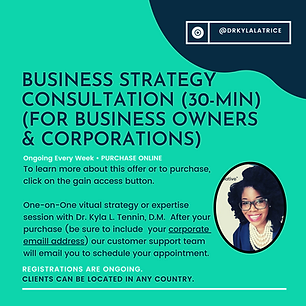 Career or Business Consultation (30-Minu