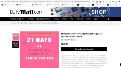 Daily Mail UK Entrepreneur Coverage - Dr. Kyla L. Tennin, D.M., M.B.A.
