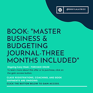 Book-Master Business and Budgeting Journ
