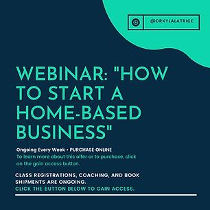 Webinar-How To Start A Home-Based Busine