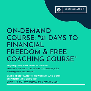 On-Demand Course-21 Days To Financial Fr