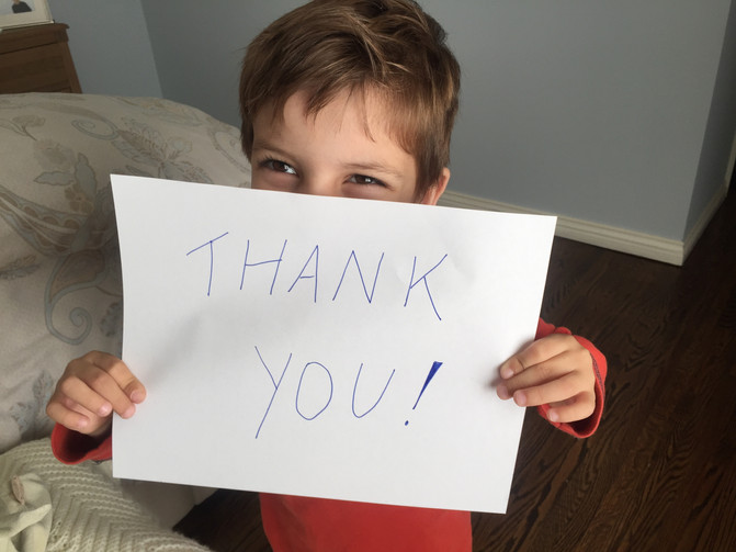 Thanks to YOU we Exceeded our Goal