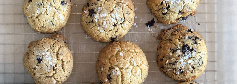 Salted Chocolate Chip Cookies | Chef Jessie Levin | New York, NY