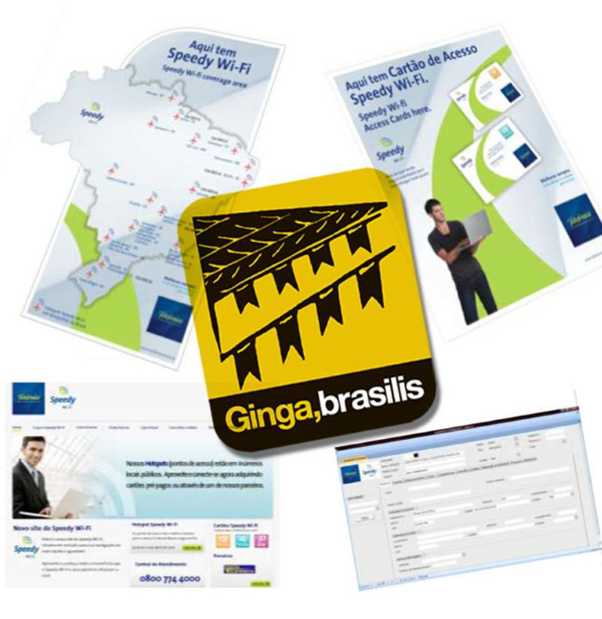 SPEED WI-FI by Ginga,Brasilis