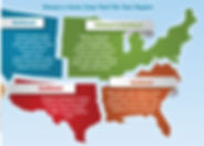 US regional cover crop map