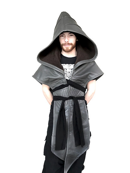 Grey Dragon Hood